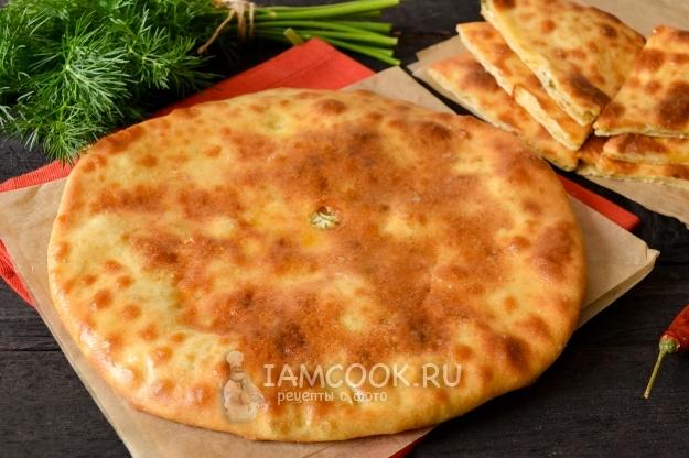 Рецепт осетинского пирога на кефире