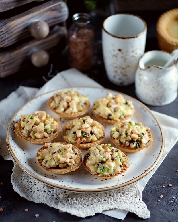грибы в тарталетках рецепт с фото керамическую плитку для