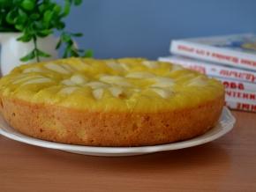 пирог со сметаной и яблоками в мультиварке