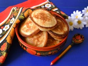 Рецепт оладиков без кефира