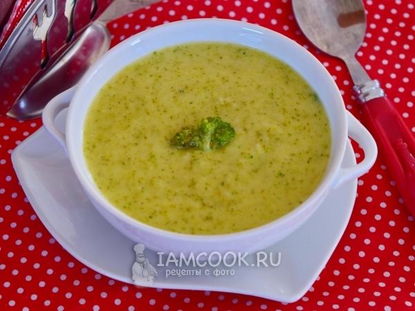 Овощной суп на мясном бульоне для ребенка 7 месяцев