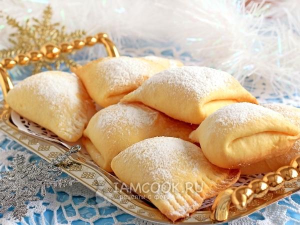 Печенье «Сугробы» — рецепт с фото пошагово