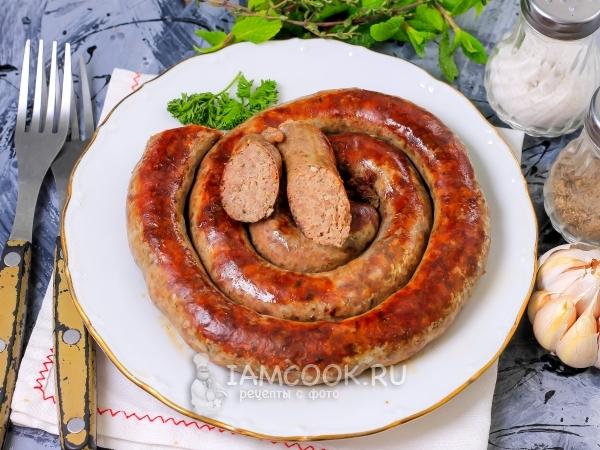 Как приготовить колбаски из баранины #5