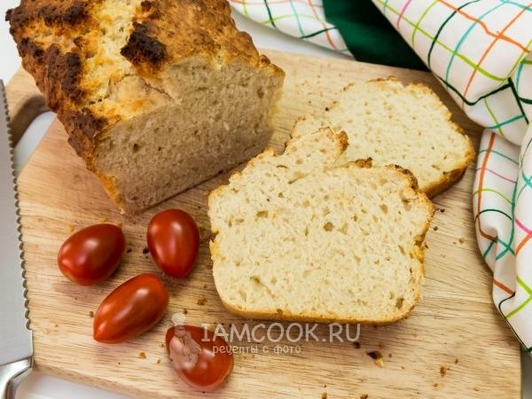 Хлеб без дрожжей и без закваски — рецепт с фото пошагово