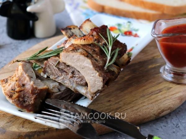 Запекаем говяжьи ребрышки в духовке с картошкой в фольге и рукаве   450x600
