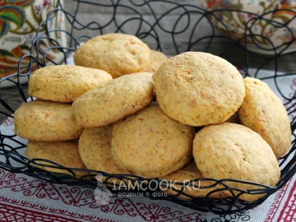 Печенье из морковного жмыха — рецепт с фото пошагово