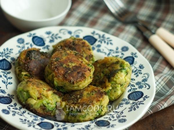 Овощные котлеты из брокколи рецепты 9