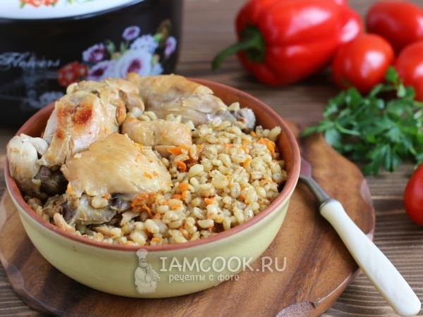 Перловая каша с грибами рецепт с фото пошагово #9