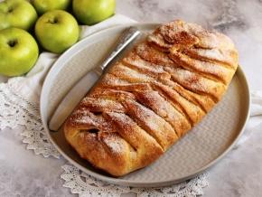 Яблочно-овсяные вафли