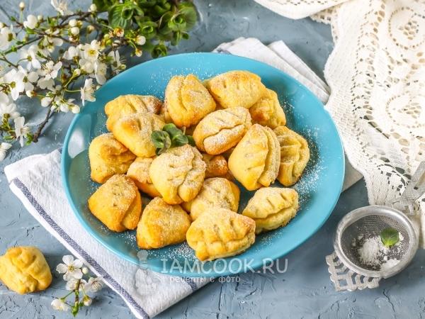 Печенье «Гусиные лапки» без творога — рецепт с фото пошагово