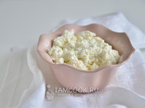 Творожная «Рикотта» из молока — рецепт с фото пошагово