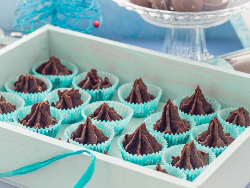 Ледяной шоколад (рождественские конфеты) — рецепт с фото пошагово