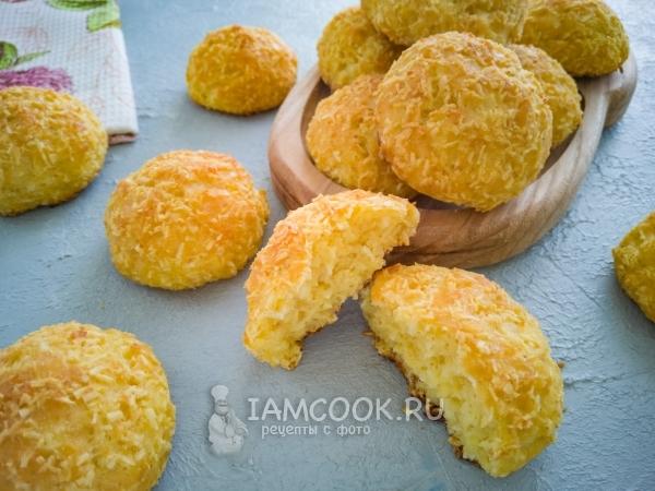 Творожно-кокосовое печенье — рецепт с фото пошагово