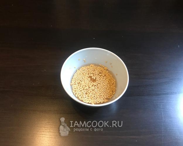 время приготовления извлечения из льняного семени