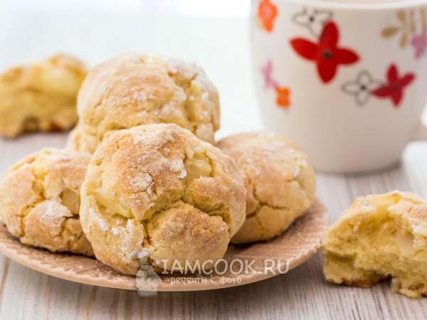 Мягкое печенье с яблоками (итальянское) — рецепт с фото пошагово