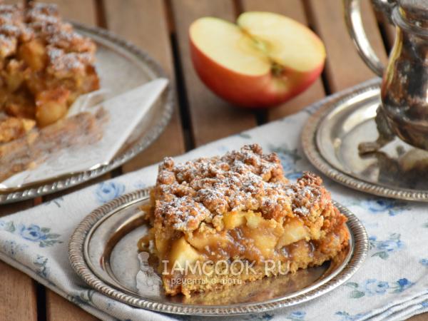 Сбричолата с яблоками — рецепт с фото пошагово