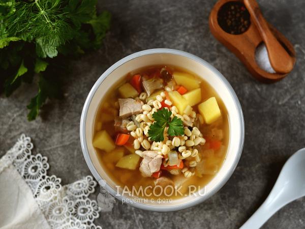 Суп из пророщенного маша с индейкой — рецепт с фото пошагово