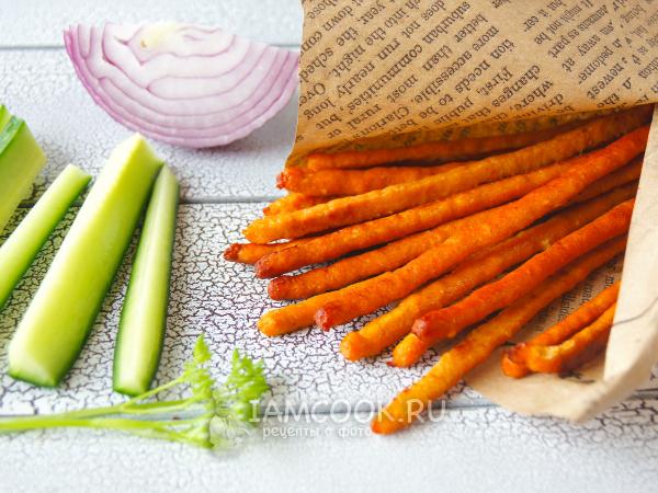 Куриные палочки из фарша (закусочные) — рецепт с фото пошагово