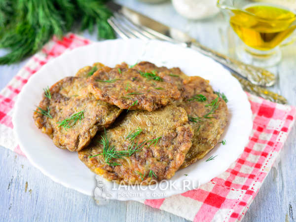 Растрепки из куриной печени — рецепт с фото пошагово