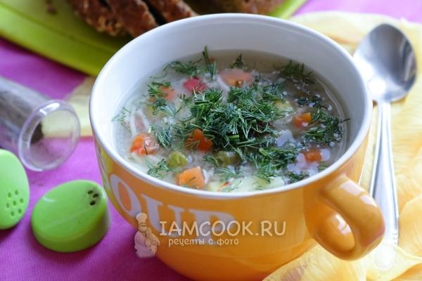 рецепт супа с замороженными овощами