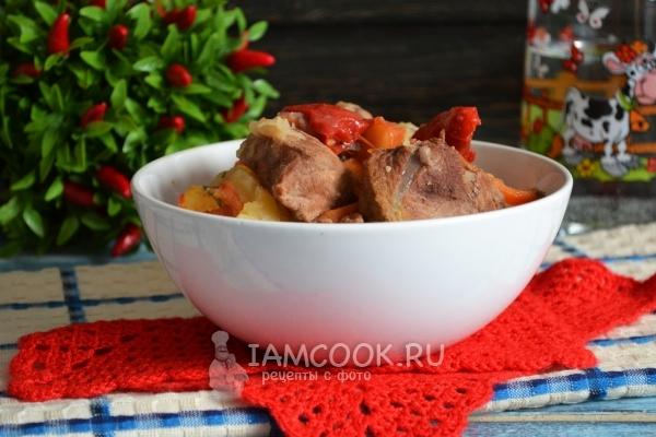 Рецепт приготовления хашламы из баранины на пиве