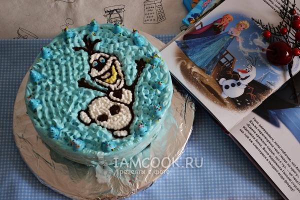 Фото торта «Холодное сердце»