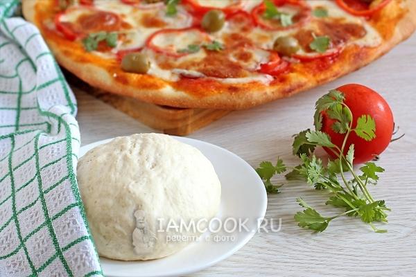 Рецепт тонкого теста для пиццы как в пиццерии