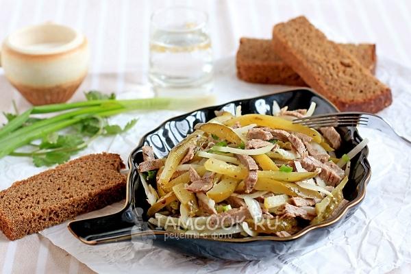 салат шахтерский рецепт с фото вкусный