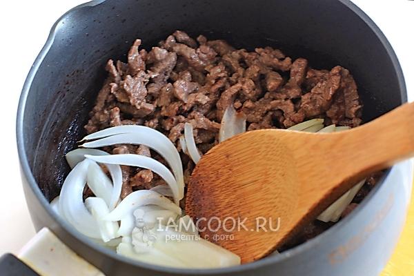 Салат с говядиной и морковью по-корейски