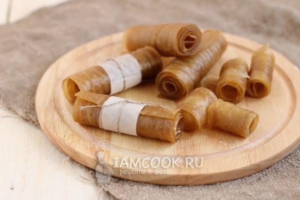 Рецепт пастилы из яблок в домашних условиях в духовке