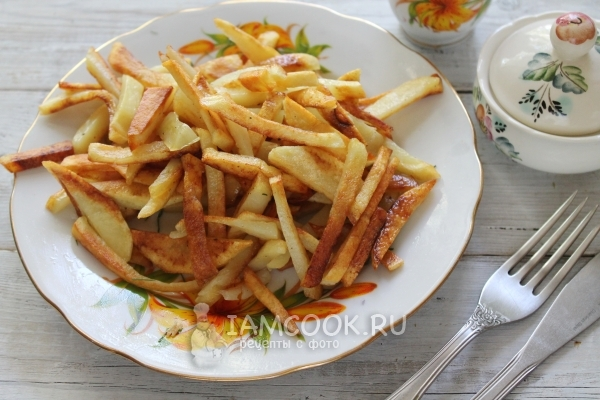 Фотографии жареной картошки 2