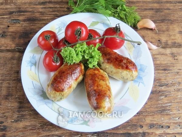 Рецепт куриных купат в духовке