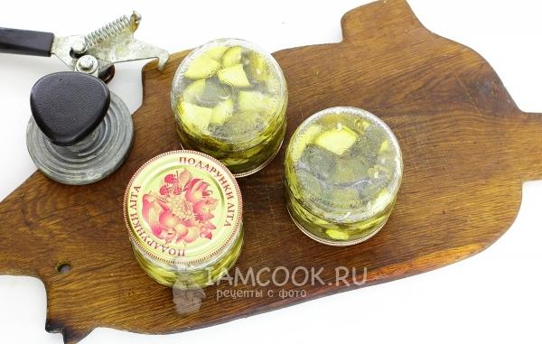 Рецепт кабачков как грузди на зиму