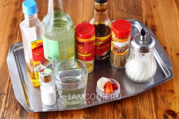 рецепт заправки для фунчозы