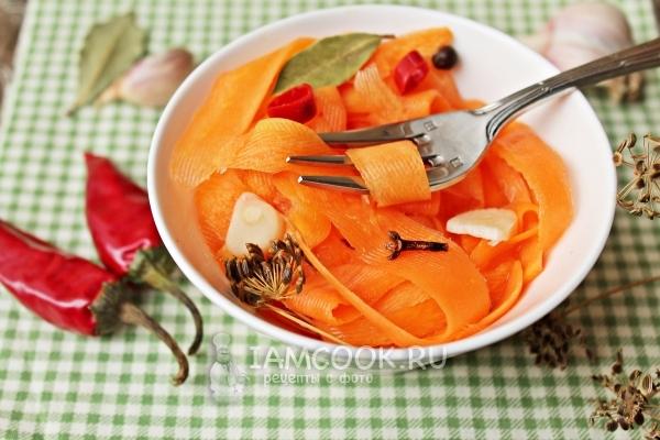 Мариновать морковь без стерилизации