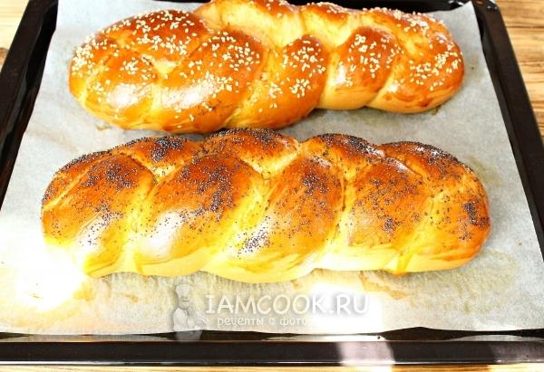 Готовый еврейский хлеб Хала