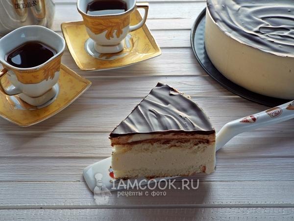 Торт Птичье молоко, пошаговый рецепт с фото