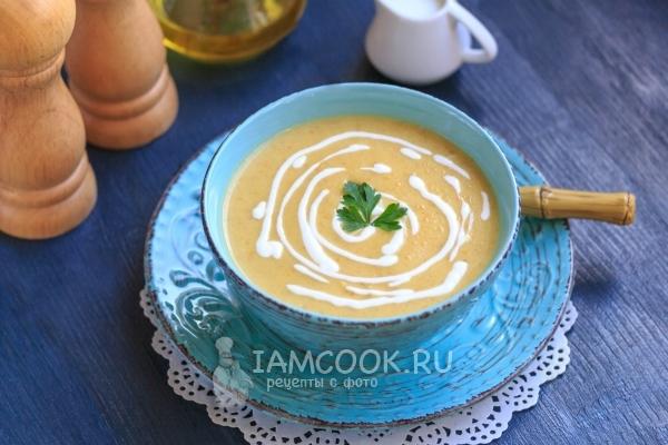 Суп пюре из плавленных сырков кабачков — photo 5