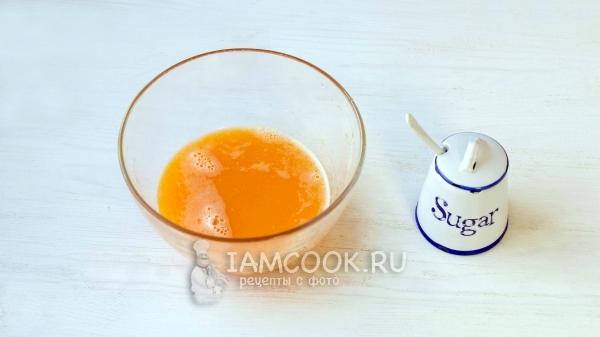 Мандариновый сок с сахаром
