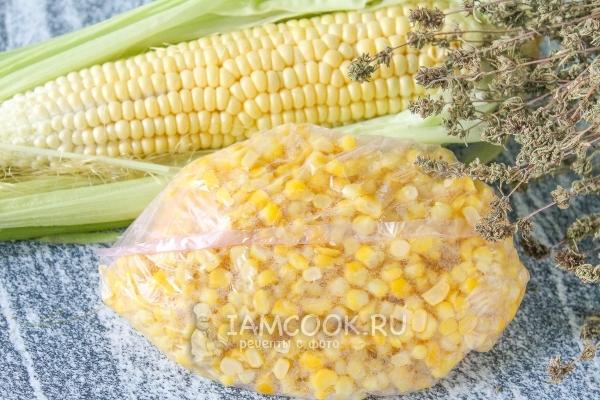 кукуруза замороженная в зернах