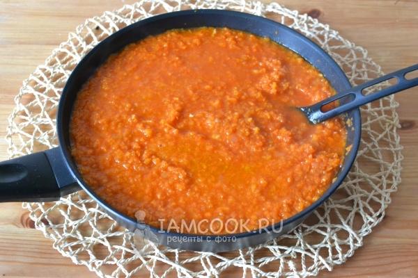 морковная икра с томатной