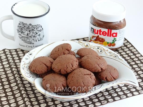 печеньки домашние рецепт с шоколадной пастой