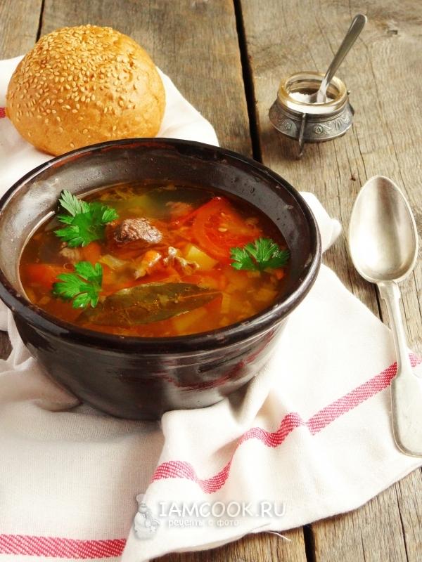 рецепты супов из лосятины
