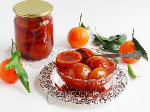 варенье из целых мандаринов с кожурой рецепт