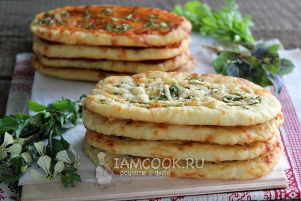 Фото лепёшек с сыром в духовке
