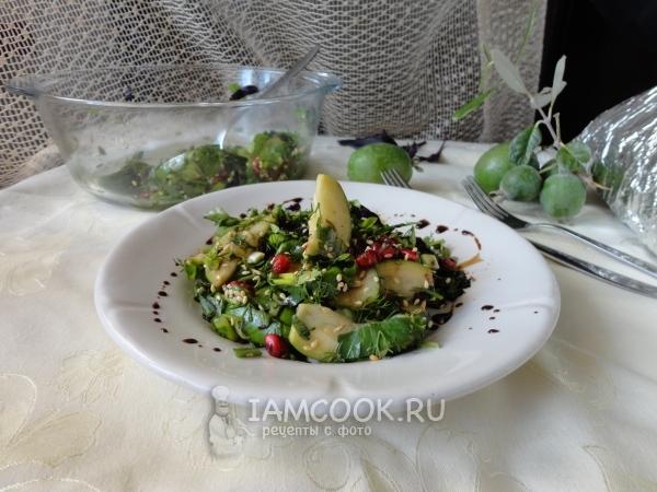 Фото салата с фейхоа