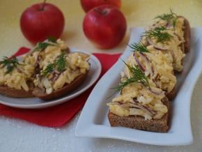Шведская закуска к черному хлебу – кулинарный рецепт
