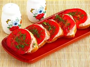 бутерброды с паштетом куриным