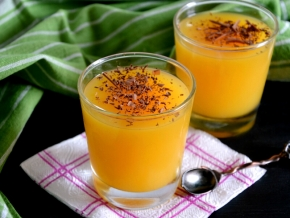 видео рецепт апельсиновое желе