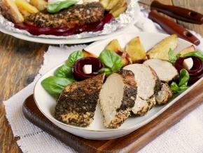 Блюдо из куриное филе в духовке 9